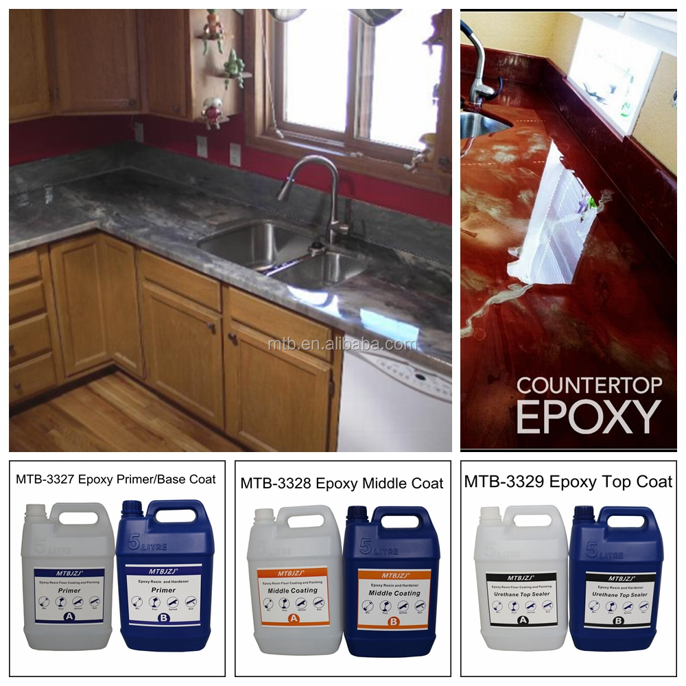 Commercial Grade Metallic Epoxy Countertop Coating View Mtbjzj Product Details From Shenzhen Meitaibang Chemical Co
