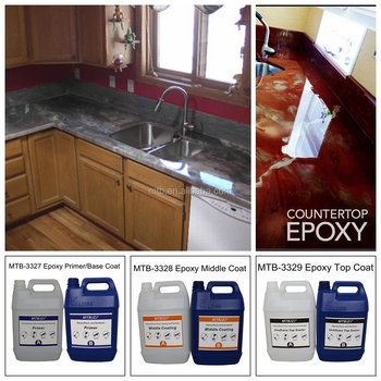 Commercial Grade Metallic Epoxy Countertop Coating