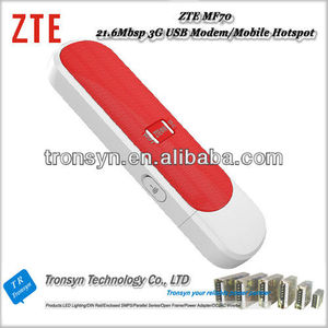 100% Original Unlock 21 6Mbps 3G Download Driver HSDPA Data Card Support  HSPA+/UMTS 2100/1900/900(850) MHz