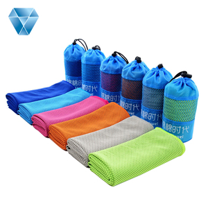 Instant Cooling Sports Towel Microfiber & Bamboo Customized Design microfibre sports towel