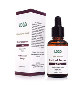 Private Label Organic Retinol Serum 2.5% Hyaluronic Acid