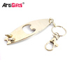 NO minimum cheap new product personalised metal surfboard bottle opener keychain