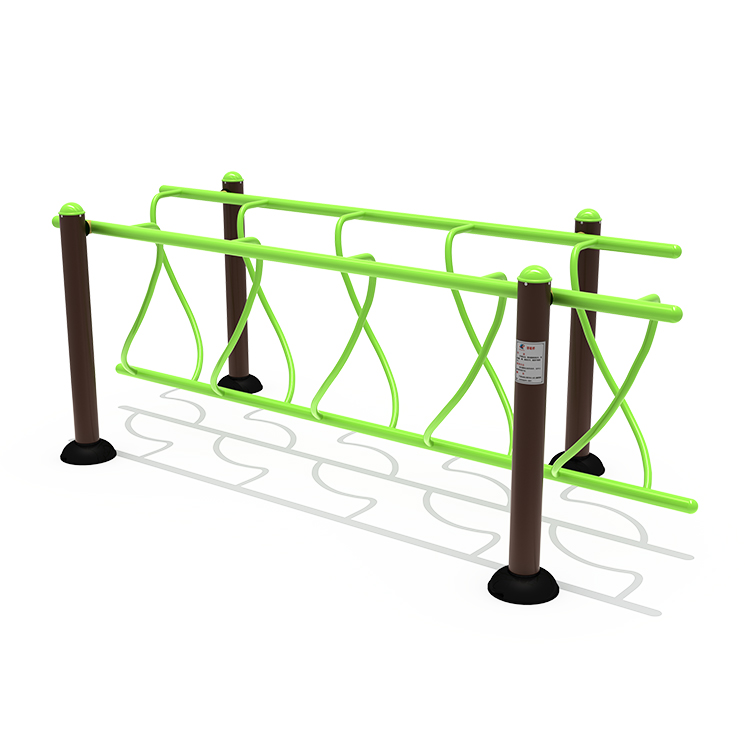 Popular outdoor fitness playground balance wave bridge training fitness equipment