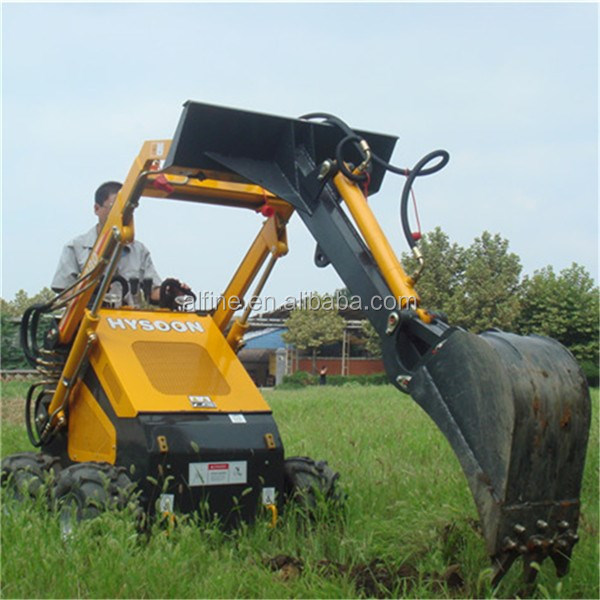 Good quality easy operation small skid steer loaders