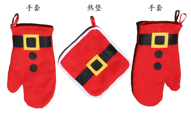 2015 Medium Flock None Time-limited Limited Wedding Decoration Christmas Decorations Enfeite De Natal Christmas Gift Gloves