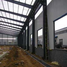 Warehouse Prefabricated Light Steel Construction Production Hall for Plant and factory