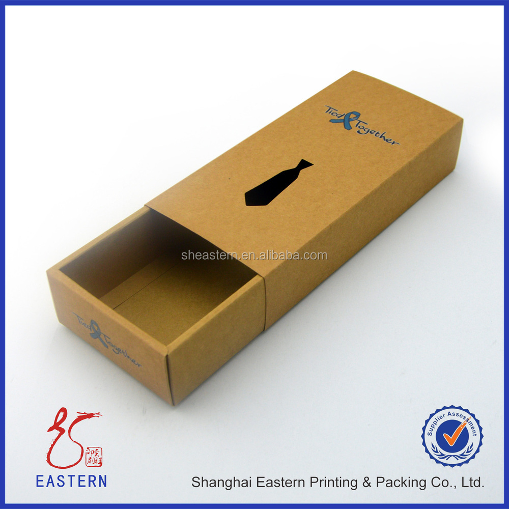 Bow Tie Kraft Packaging Box,Paper Bow Tie Box Wholesale,Tie Storage Box
