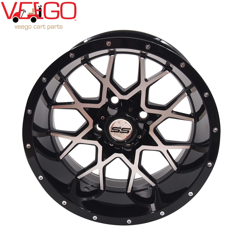 Golf Cart 14 Machined Wheel Rim And 205 30 14 Dot Tire Combo Buy Golf Cart 14 Wheel Golf Cart 14 Rim Golf Cart Rim Product On Alibaba Com