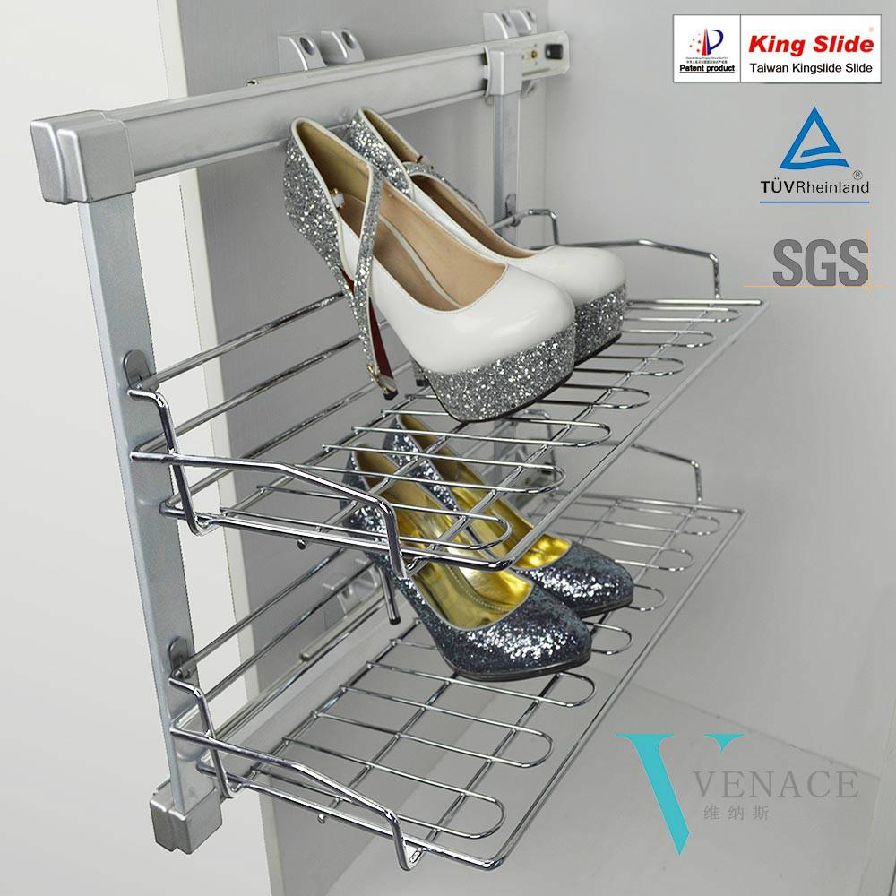 Populaire kast hardware uitschuifbare schoenenrek andere metalen ...