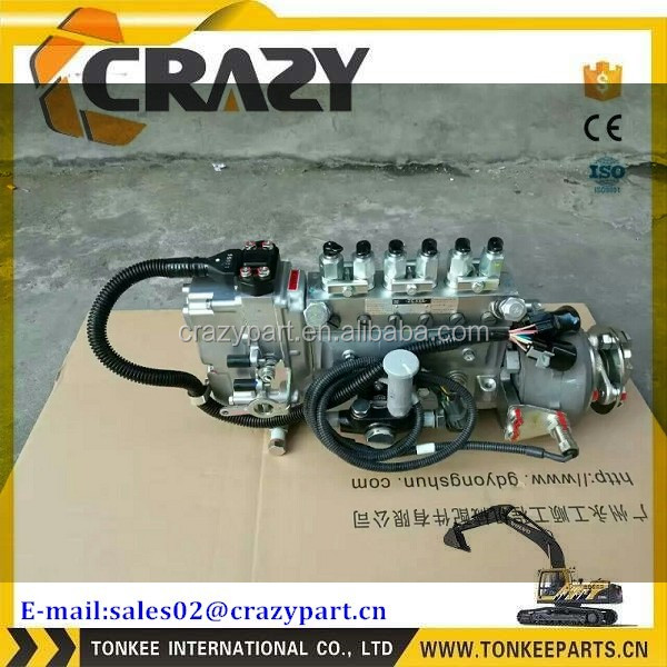 Diesel Fuel Injection Pump 101608-6350 for Excavator Engine 6D16 ME440455