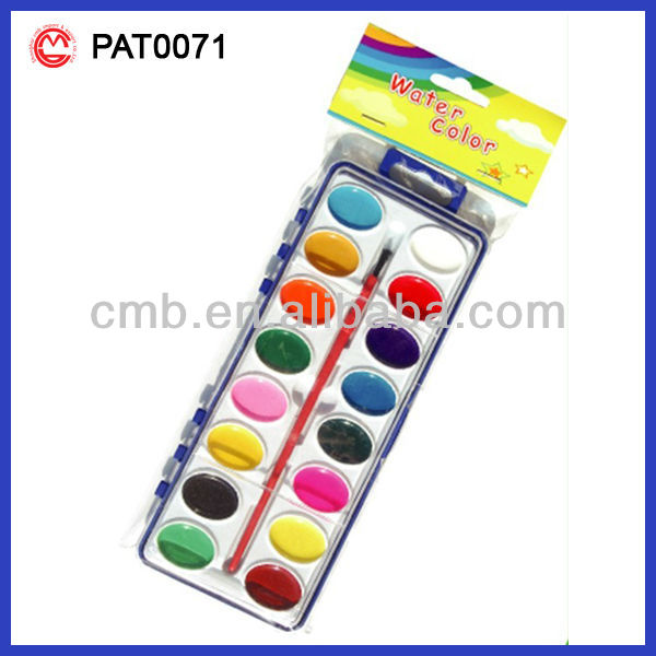 WATER COLOR PAINT CAKE BRILLIANT COLORS HOT SELL