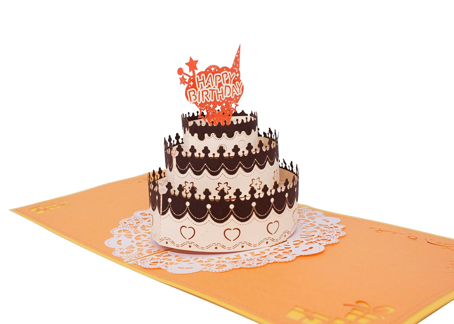 Buy Ait Design Hand Crafted Greeting Card 3d Pop Up Card Birthday
