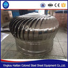 Low cost factory industrial exhaust fan waterproof non powered turbine roof fan