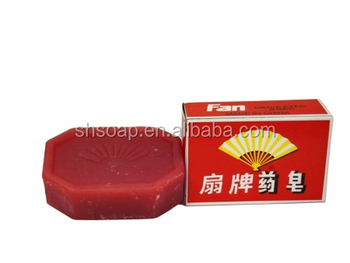 Fan Brand Cheapest Medicated Bath Toilet Soap