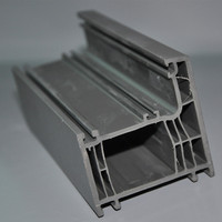Colored UPVC Profiles for Windows Plastic Building Materials