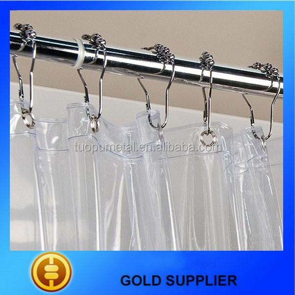 Supply Roller Ball Shower Curtain Hooks,Shower Curtain Track Hooks ...