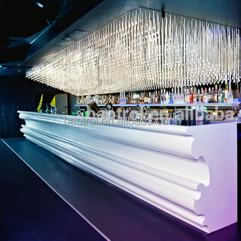 Modern Restaurant Bar Counter Design Ready Made Bars Counters