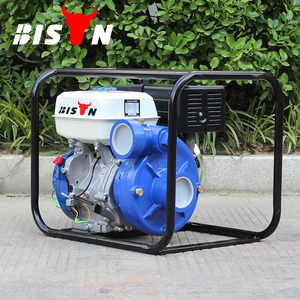 BISON TaiZhou 3 Inch Iron Water Pump for Farm Irrigation, Gasoline Engine 80m Head