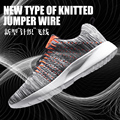 Men running shoes 2016 high quality flywire shock absorption sneakers lightweight breathable and comfortable sport shoes