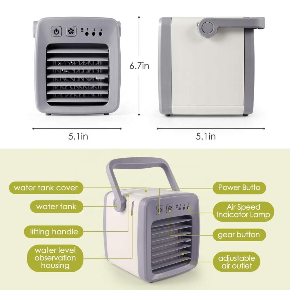evapolar air Cooler Portable Mini Fan evapolar humidifier Portable Mini Cooler,3 Gear Speed,Office Cooler Humidifier
