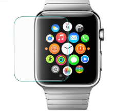 2.5D super HD Transparence anti-empreintes digitales en verre trempé pour Apple watch <span class=keywords><strong>protecteur</strong></span> d'écran