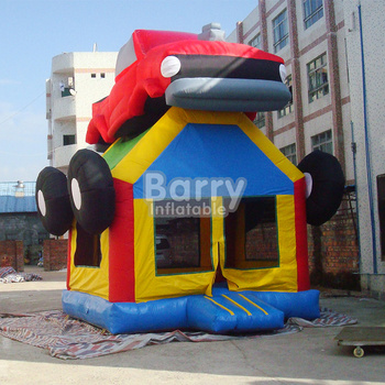 Inflatable monster truck bouncer made of PVC
