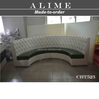 Alime Cbt523 Hot Sale Foshan Custom White Leather Circle Night ...