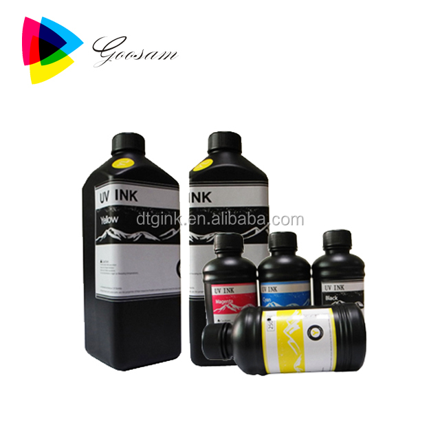 Super anti scratch UV ink for soft substrates Wall Paper PVC Leather Metal Sheet