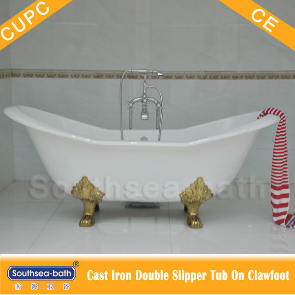Genial Cheap Double Slipper Clawfoot Cast Iron Bathtub/Freestanding Bath Tubs/Common  Used Hot Tubs