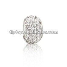 bling sieraden 925 sterling zilver wit <span class=keywords><strong>kristal</strong></span> bead past op Pugster