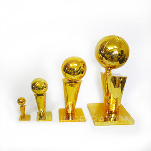 Custom 2018 Russia world cup football trophy resin metal sports basketball trophies