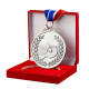 Sports Metal Medal Badminton Award Medal Alloy Cheap Custom Medals