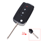Replacement Modified Remote Key Shell Case For Toyota 3 Buttons Smart Key Case
