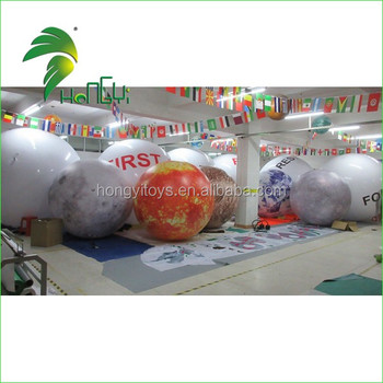 Inflatable Planets for Decoration, Sun, Mars, Saturn Solar System Nine Planets
