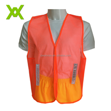 China Manufacture High Visibility PVC Safety Belt Sash Running Reflective Vest