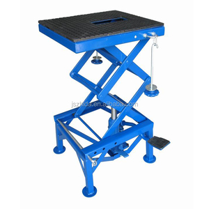 300lbs Hydraulic Motorcycle Lift Table Mini Scissor Lift Table