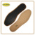 Ant grain genuine sheepskin black latex leather shoes insole
