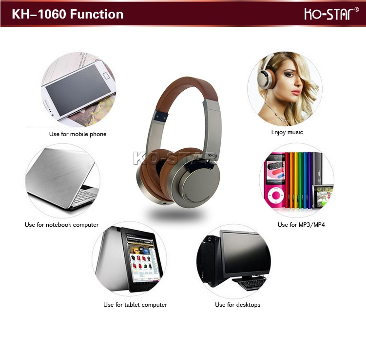 Hot Sale Cute Custom Headphone with Brand Logo and protector for Boys and Girls with free sample