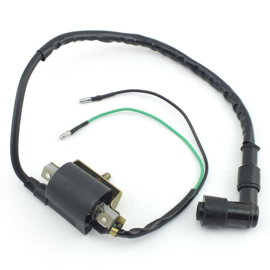 Get Quotations · Ketofa 2-Wire Ignition Coil for 4-stroke 50cc 70 cc 90cc  110 cc