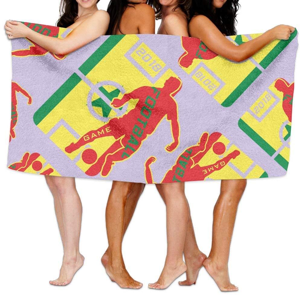 RGF TOWELS Football 2018 Senegal Lover Beach Durable Creative Towel Absorbent Chic Bath Towel