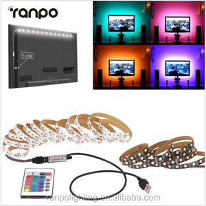 IP60 RGB Strip 1M 2M 3M 4M 5M Backlight TV LED Strip Light