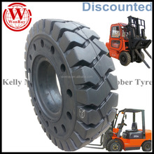 cushion solideal forklift tires 700x12 825x15 600x9 650x10 18x7x12 1/8