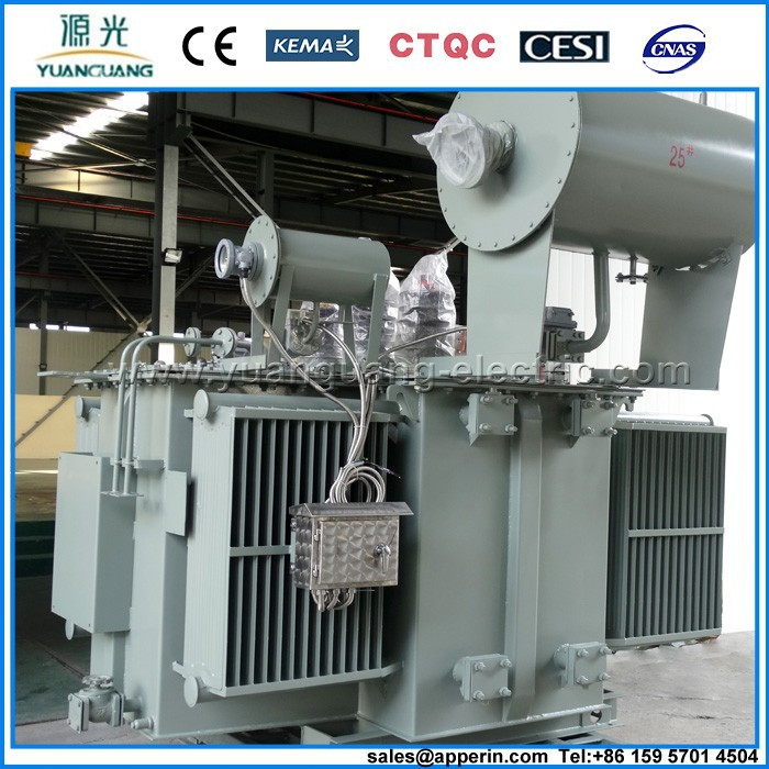 33kv/35kV Three-phases Double-winding Oil-immersed Power Transformer with DETC