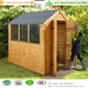 Cheap hot sell wood cabin, garden shed wood