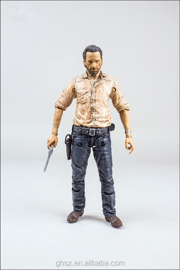 High Quality Pvc Action Figure Maker,Custom Walking Dead Action ...