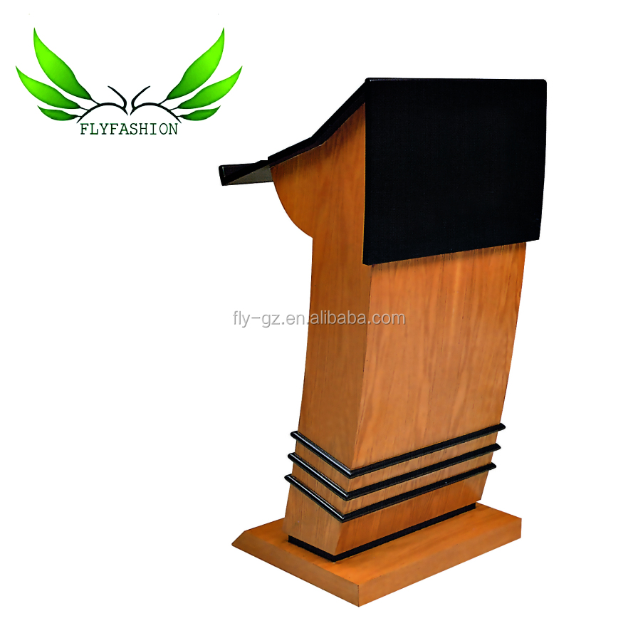sf 14t wood church pulpit speech table modern church podium church