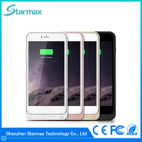 Super slim 8200mAh external cell phone battery case for iphone 6s plus