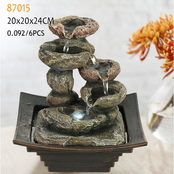 Polyrésine Mini Fontaines Du0027intérieur Pour Table