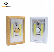 2 COB Cordless Switch Light with Magnet and Loops