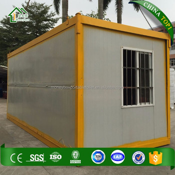 Moneybag Sandwich Panel 20ft 40ft Shipping Container Homes For ...